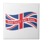 God Save the King with Union Jack Tiles