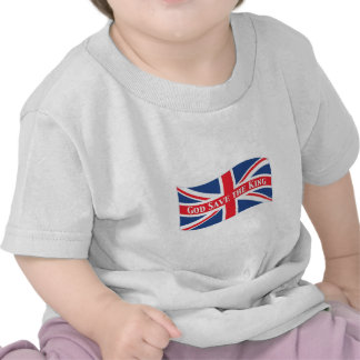 God Save the King with Union Jack Tshirts