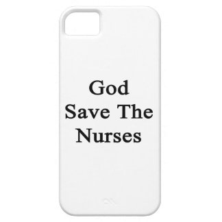 God Save The Nurses iPhone 5 Cases