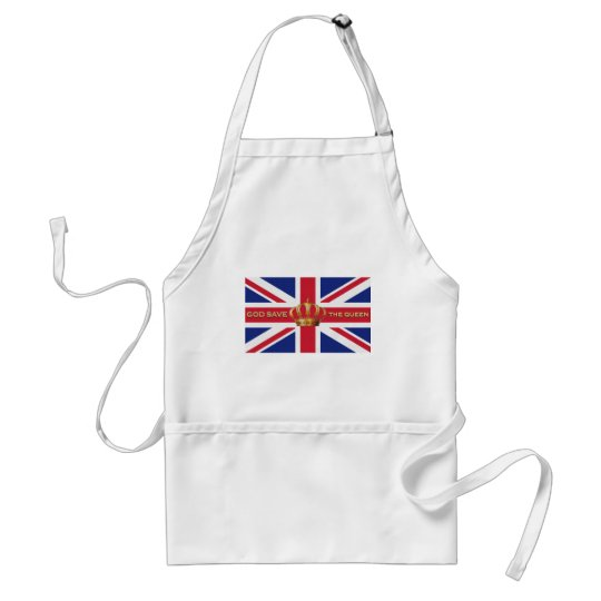 God Save The Queen Apron