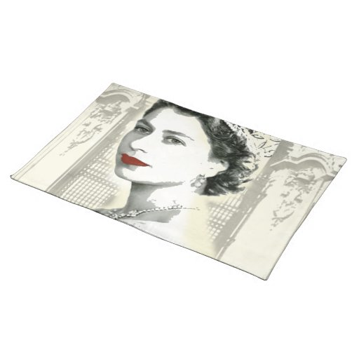 God Save the Queen Cloth Placemat