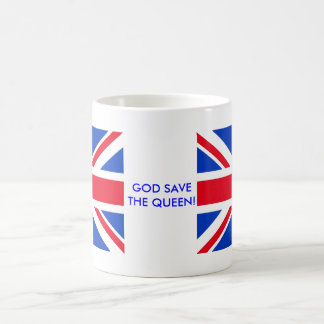 GOD SAVE THE QUEEN! COFFEE MUG