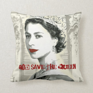 God Save the Queen Cojín