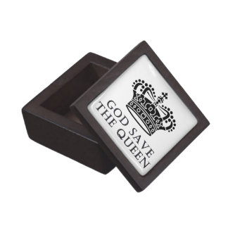 God Save The Queen Jewelry Box