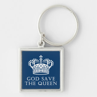 God Save The Queen Keychain