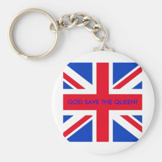GOD SAVE THE QUEEN! KEYCHAIN