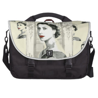 God Save the Queen Laptop Commuter Bag