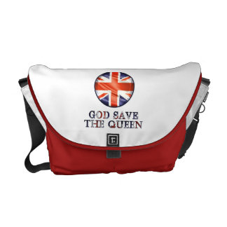 God Save The Queen Messenger Bags