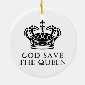 God Save The Queen Ornament
