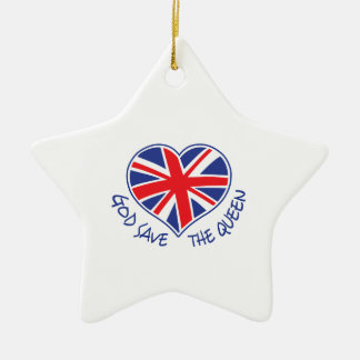 GOD SAVE THE QUEEN ORNAMENTS