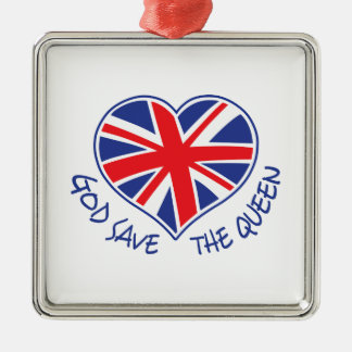 GOD SAVE THE QUEEN CHRISTMAS TREE ORNAMENTS