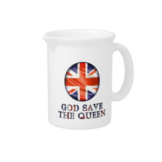 God Save The Queen Pitcher