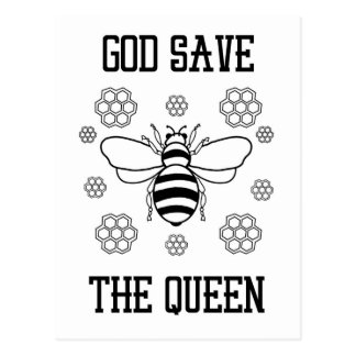 God Save the Queen Postcard