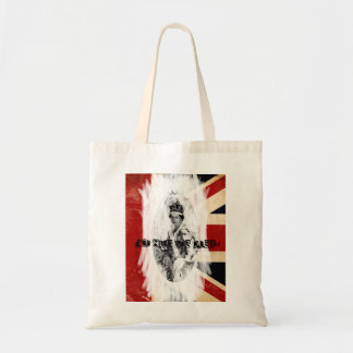 God Save the Queen punk/grunge Tote Bags