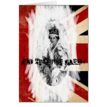 God Save the Queen punk/grunge Cards