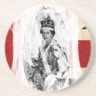 God Save the Queen punk/grunge Coaster