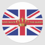 God Save The Queen Stickers