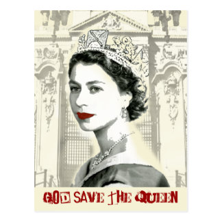 God Save the Queen Postal