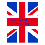¡GOD SAVE THE QUEEN! TARJETA POSTAL