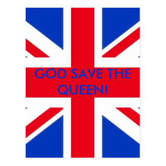 ¡GOD SAVE THE QUEEN! POSTAL