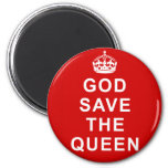 God Save the Queen Tshirts, Bags, Gifts Fridge Magnets