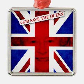 GOD SAVE THE QUEEN UK Edition Adornos