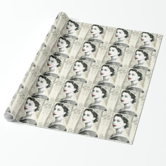 God Save the Queen Wrapping Paper