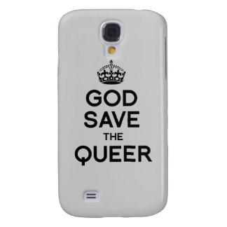 GOD SAVE THE QUEER - png Samsung Galaxy S4 Cover