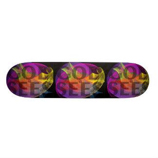 God Sees Skate Board