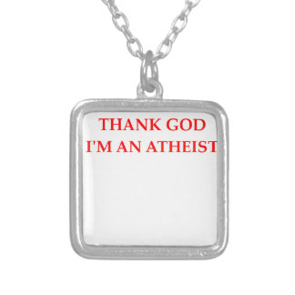 GOD SILVER PLATED NECKLACE