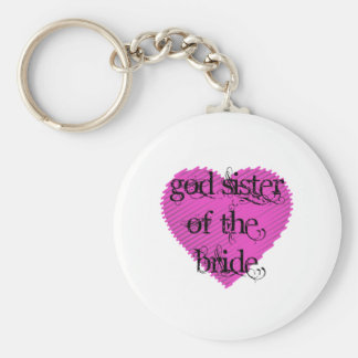 God Sister of the Bride Keychain