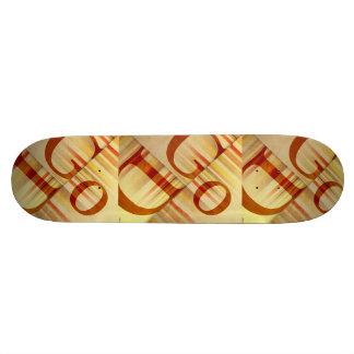 God Skateboard Deck