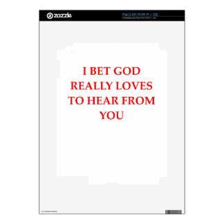 god skins for iPad 2