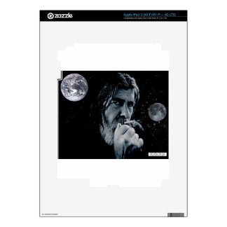 GOD Smoking Christian WARNING Atheist Dark Earth Skins For iPad 3