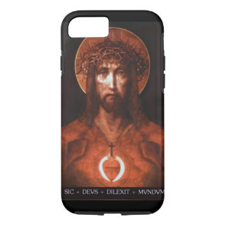 """""""God so delighted in the world"""" iPhone 8/7 Case"""