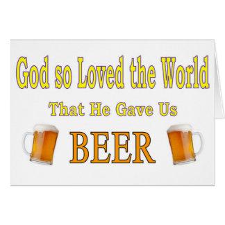 God So Loved the World Card