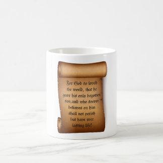 GOD SO LOVED THE WORLD mug