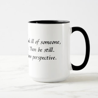 God Speaking:  If you're going to... Mug