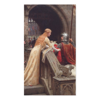 God Speed! - Edmund Blair Leighton Double-Sided Standard Business Cards (Pack Of 100)