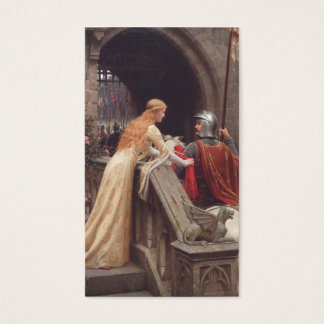 God Speed! - Edmund Blair Leighton Business Card