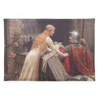 God Speed! [Edmund Blair Leighton] Placemats