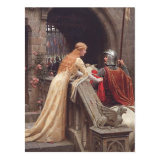 God Speed! [Edmund Blair Leighton] Postcards