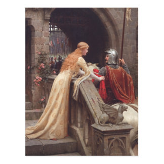 God Speed! - Edmund Blair Leighton Post Card