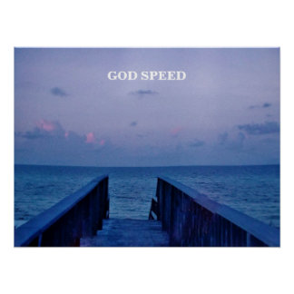 GOD SPEED POSTER