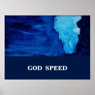 GOD SPEED POSTER