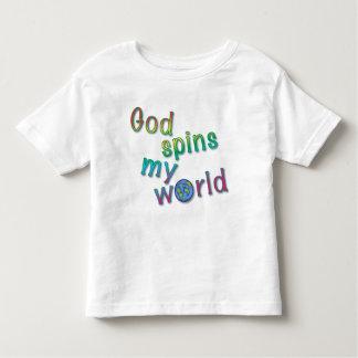 God Spins My World T-shirts