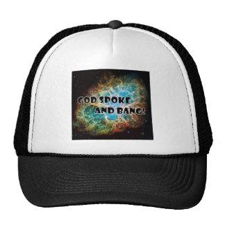 God Spoke Trucker Hat