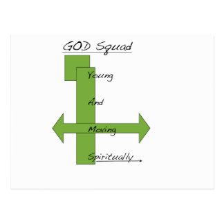 God Squad Postcard
