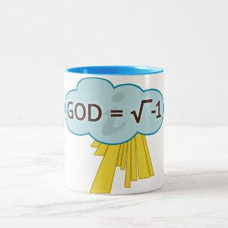 God = Square Root of -1 Mug