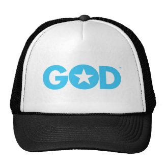 God Star Mesh Hats